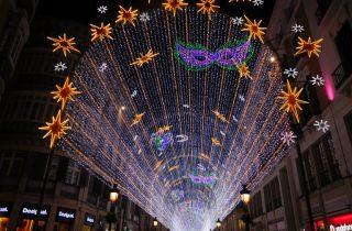 kerstverlichting Malaga